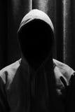 Retrato del hombre invisible en la capilla imagen de archivo libre de regalías