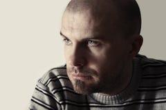 Retrato del hombre joven Fotos de archivo