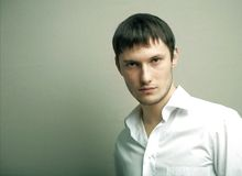 Retrato del hombre joven Foto de archivo