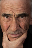 Retrato del hombre mayor Imagen de archivo