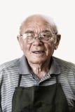 Retrato del hombre mayor Foto de archivo libre de regalías