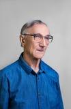 Retrato del hombre mayor Imagen de archivo libre de regalías