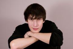 Retrato del individuo joven Foto de archivo