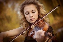 Retrato del músico Imagen de archivo libre de regalías
