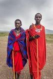 Retrato del Masai joven Imágenes de archivo libres de regalías