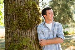 Retrato del mayor de High School secundaria del hombre joven Fotos de archivo libres de regalías