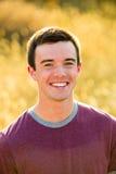 Retrato del mayor de High School secundaria del hombre joven Imagenes de archivo
