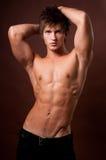Retrato del modelo masculino Imagen de archivo libre de regalías