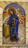 Retrato del mosaico de Sveta Petka de la iglesia ortodoxa Foto de archivo libre de regalías