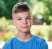 Retrato del muchacho adolescente Fotografía de archivo libre de regalías