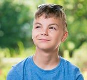 Retrato del muchacho adolescente Imágenes de archivo libres de regalías