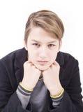 Retrato del muchacho adolescente hermoso Fotos de archivo libres de regalías