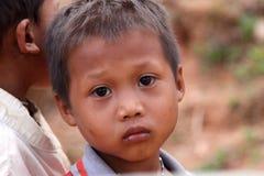 Retrato del muchacho asiático Fotografía de archivo libre de regalías