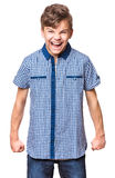 Retrato del muchacho de Ternn Imágenes de archivo libres de regalías