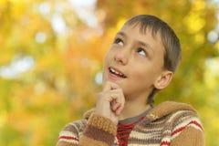 Retrato del muchacho feliz Fotografía de archivo libre de regalías