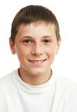 Retrato del muchacho joven Fotos de archivo