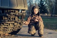 Retrato del muchacho joven foto de archivo