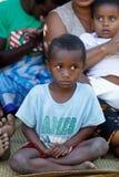 Retrato del muchacho malgache joven del adolescente Fotografía de archivo libre de regalías
