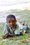 Retrato del muchacho malgache joven del adolescente Fotografía de archivo