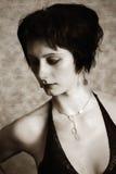 Retrato del mujeres Foto de archivo libre de regalías