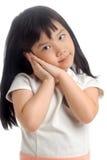 Retrato del niño asiático fotografía de archivo