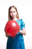 Retrato del niño hermoso, chica joven Foto de archivo