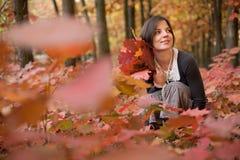 Retrato del otoño Imagen de archivo