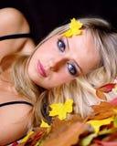 Retrato del otoño. fotos de archivo