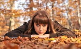 Retrato del otoño. imágenes de archivo libres de regalías