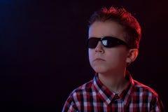 Retrato del partido de un muchacho Imagenes de archivo