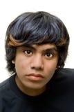 Retrato del pensador adolescente Foto de archivo