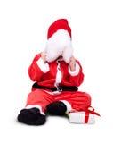 Retrato del pequeño bebé lindo en rojo Imagen de archivo libre de regalías