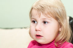 Retrato del pequeño niño Fotografía de archivo libre de regalías