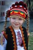 Retrato del pequeño ucraniano Imagenes de archivo