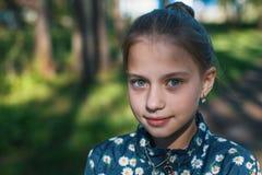 Retrato del primer del adolescente lindo Imágenes de archivo libres de regalías