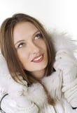 Retrato del primer de la chica joven hermosa fotos de archivo libres de regalías