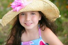 Retrato del primer de la muchacha adolescente hermosa Fotografía de archivo libre de regalías