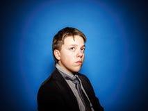 Retrato del primer del adolescente en estudio Imágenes de archivo libres de regalías