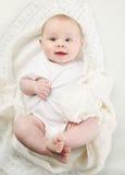 Retrato del primer del bebé adorable Fotos de archivo libres de regalías