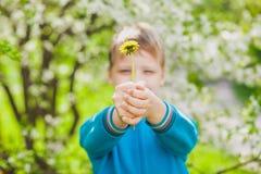 Retrato del primer del niño pequeño divertido lindo Fotos de archivo libres de regalías