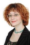 Retrato del Redhead Imágenes de archivo libres de regalías