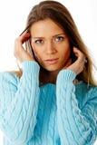 Retrato del suéter Fotos de archivo libres de regalías