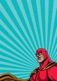 Retrato 2 del super héroe Imágenes de archivo libres de regalías