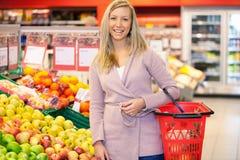 Retrato del supermercado foto de archivo libre de regalías