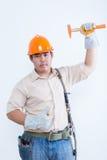Retrato del técnico de sexo masculino Fotografía de archivo libre de regalías