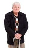 Retrato del viejo hombre Fotografía de archivo