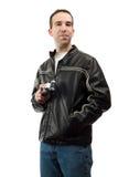 Retrato del vigilante de pájaro Fotografía de archivo libre de regalías