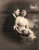 Retrato del vintage Foto de archivo libre de regalías