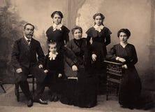 Retrato del vintage, 1911 años Imagen de archivo libre de regalías