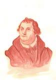 Retrato del Watercolour de Martin Luther Imágenes de archivo libres de regalías